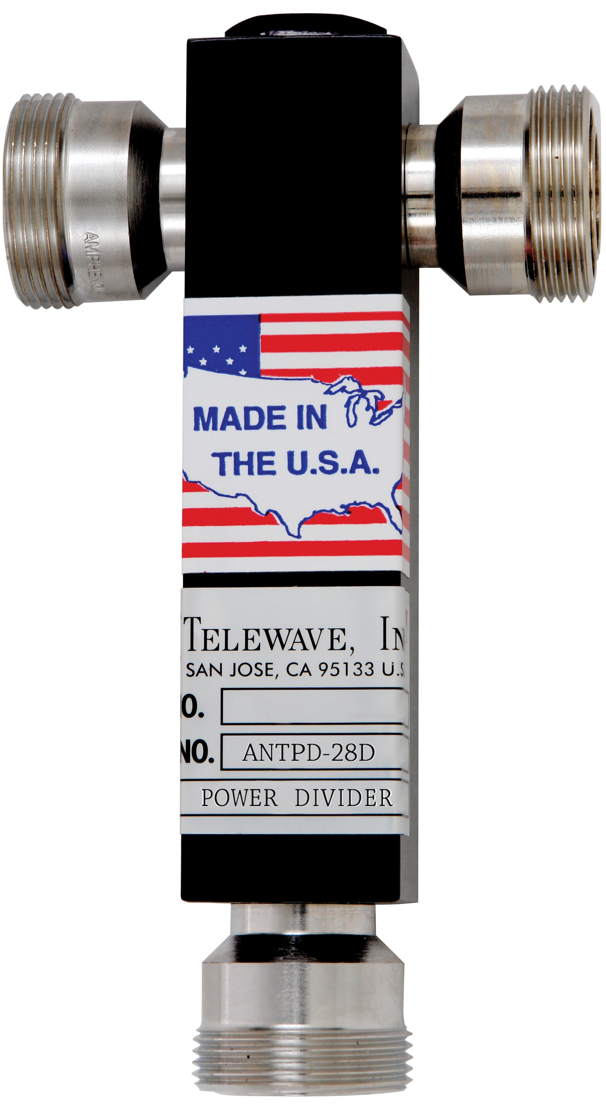 Rf Power Divider 7 16 Din F Connectors Telewave Inc 2 Mhz Frequency Standard With Dividers